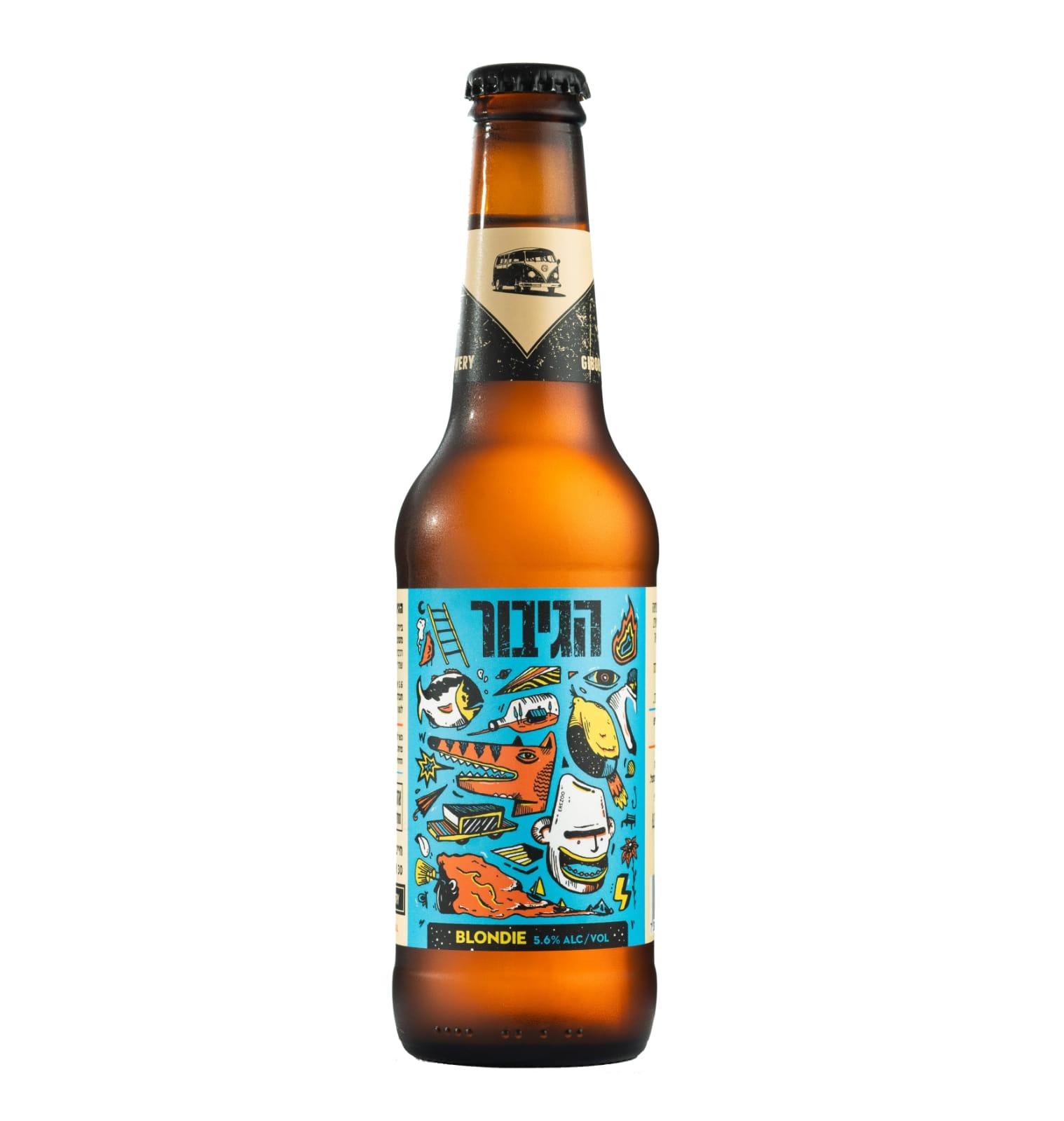בירה הגיבור בלונדי